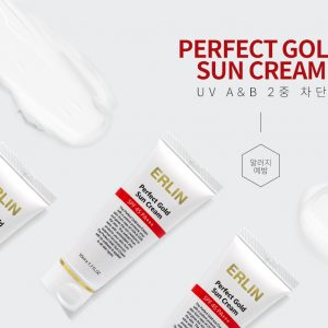 Erlin Perfect Gold Sun Cream 50ml