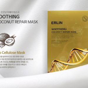 Erlin Soothing Coconut Repair Mask 30g (5pcs/box)